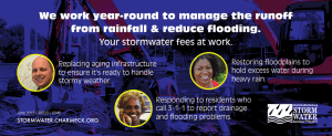 We work year-round to manage the runoff
