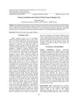 Advance Journal of Food Science and Technology 7(12): 921-925, 2015