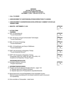 AMENDED VICTOR VALLEY COLLEGE CURRICULUM COMMITTEE AGENDA