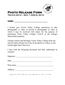 Photo Release Form