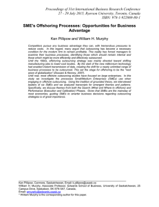 Proceedings of 31st International Business Research Conference
