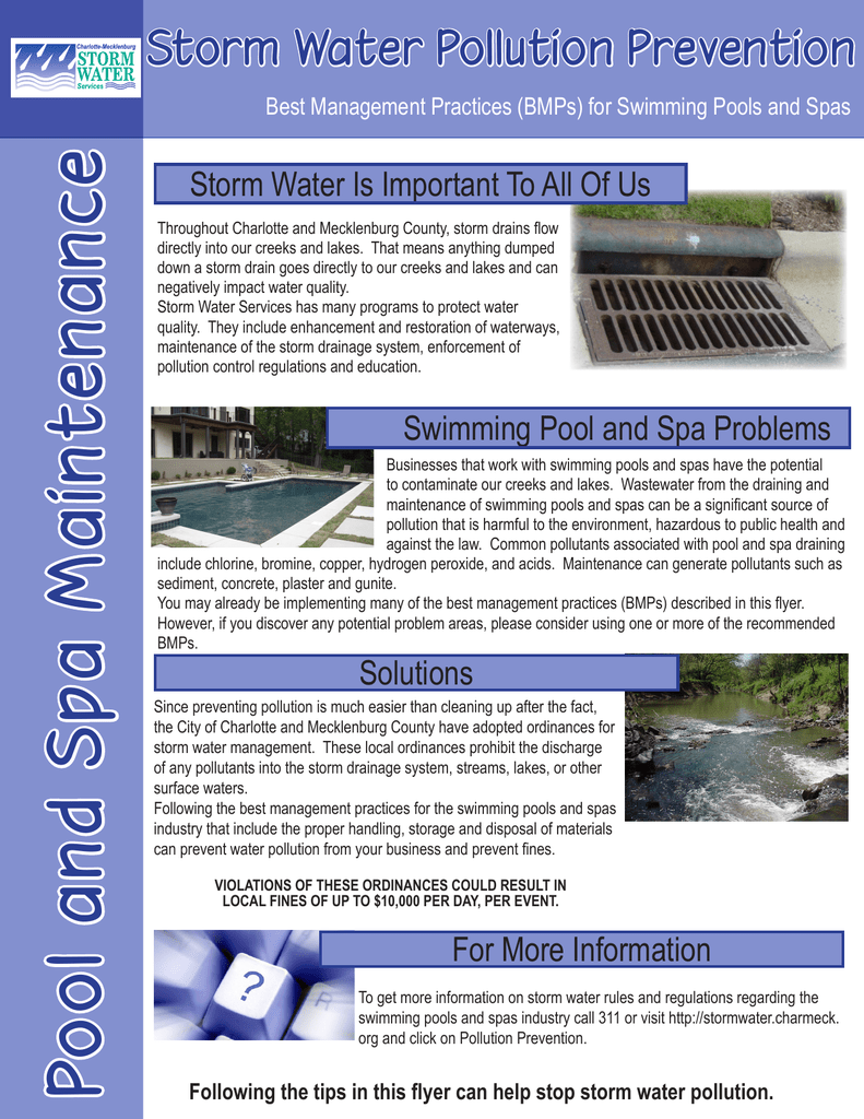 Ce N Storm Water Pollution Prevention