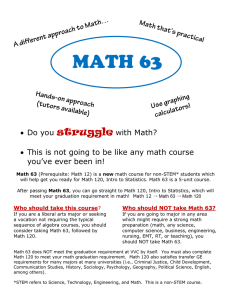 struggle  with Math? Do you