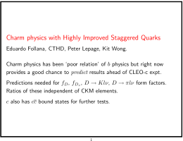 Charm physics with Highly Improved Staggered Quarks