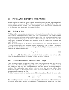 11  FINS  AND  LIFTING  SURFACES
