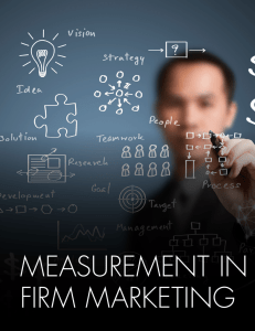 MEASUREMENT IN LAW FIRM MARKETING 12