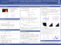 SINE Super-Resolution of Complex Exponentials from Modulations with Unknown Waveforms