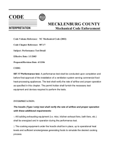 CODE MECKLENBURG COUNTY Mechanical Code Enforcement