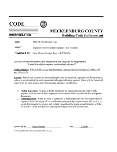 CODE MECKLENBURG COUNTY Building Code Enforcement