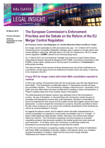 The European Commission's Enforcement