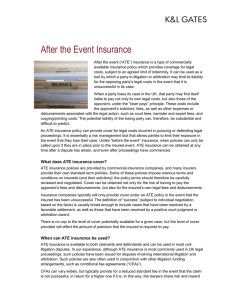 After the Event Insurance