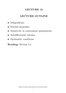 LECTURE 12 LECTURE OUTLINE Reading: Section 5.4 •