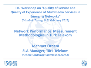 "ITU Workshop on ""Quality of Service and Emerging Networks"""