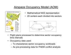Airspace Occupancy Model (AOM)