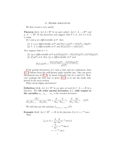 11.  Higher  derivatives We first record a very useful: