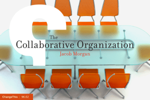 Collaborative Organization Jacob