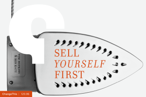 SELL FIRST YOURSELF to