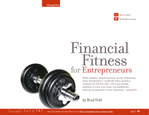Financial Fitness for