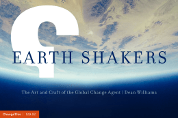 EARTH SHAKERS  |
