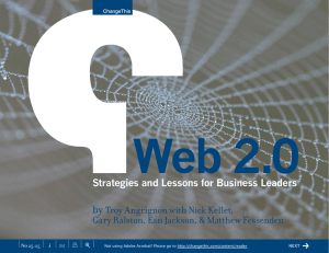 Web 2.0 by Troy Angrignon with Nick Kellet,
