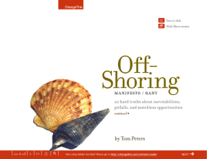 Off- Shoring | f