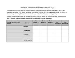 INDIVIDUAL ACCOUNTABILITY SCORING RUBRIC_ASL Project
