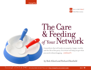 The Care & Feeding Network