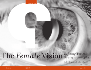 Female The Vision