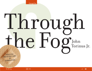 Through the Fog John Torinus Jr.