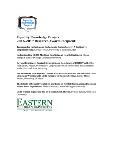 Equality	Knowledge	Project 2016-2017	Research	Award	Recipients