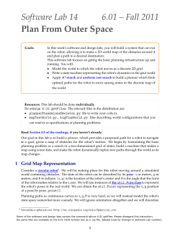 Software 6.01 Plan