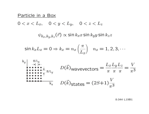 Particle  in  a  Box ,