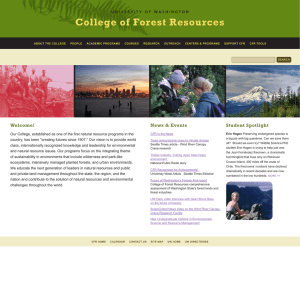College of Forest Resources