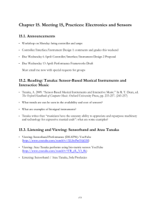 Chapter 15. Meeting 15, Practices: Electronics and Sensors 15.1. Announcements