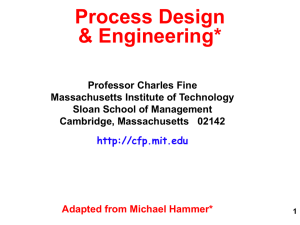 Process Design & Engineering*