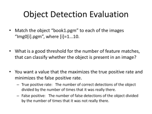 Object Detection Evaluation