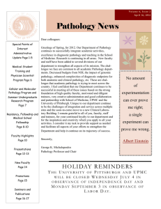 Pathology News