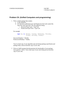 Problem C9. (Unified Computers and programming)