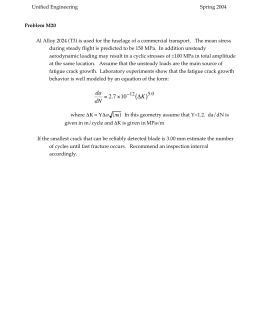 Unified Engineering Spring 2004 Problem M20