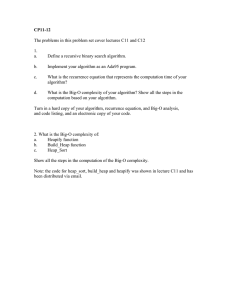 CP11-12 The problems in this problem set cover lectures C11 and... 1. a.