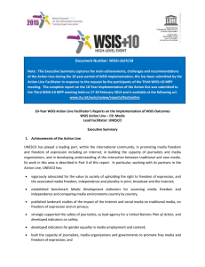 Document Number: WSIS+10/4/18