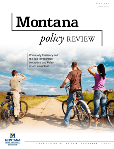 Montana | policy review