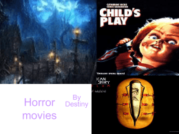 Horror movies By Destiny