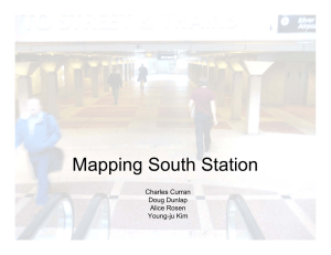 Mapping South Station Charles Curran Doug Dunlap Alice Rosen