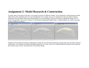 Assignment 2: Model Research & Construction