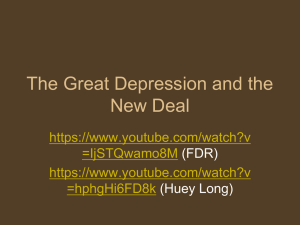 The Great Depression and the New Deal  =IjSTQwamo8M
