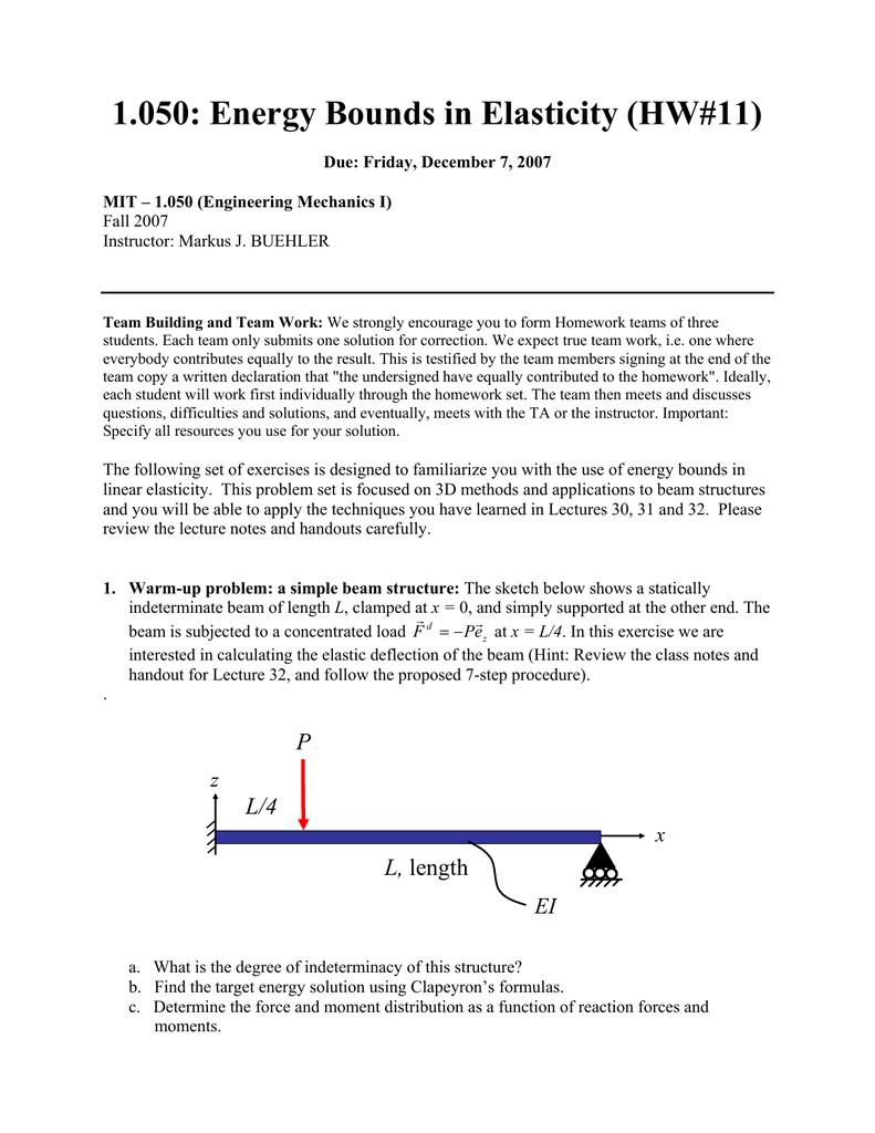Determine The Reaction Forces At A And B
