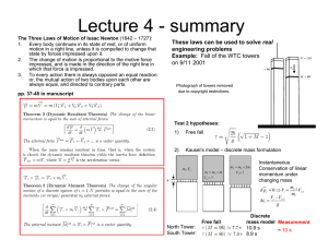 Lecture 4 - summary real