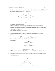 Problem set #1 for 5.72 (spring 2012)  Cao