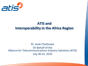 ATIS and Interoperability in the Africa Region